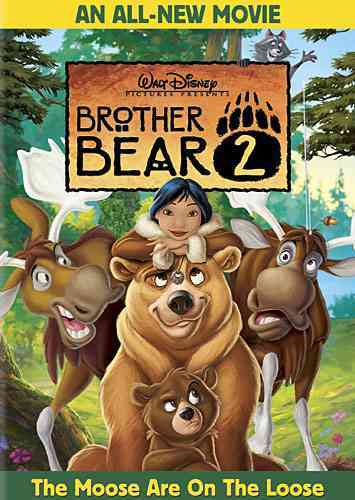 BROTHER BEAR 2 BY MOORE,MANDY (DVD)